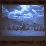 La guerra gaucha, proyección, fragmento de la película dirigida por Luca Demare.