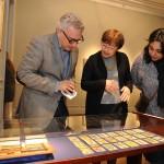 Int. J Zamora y Directora MAT MJ Herrera recorren las obras de Xul Solar