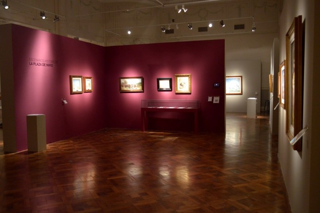 Sala Historia en cuadros VI - Foto Anita Cortés