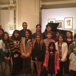 Panizza y los integrantes de las orquestas infanto juveniles