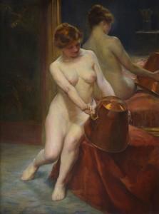 """""""Desnudo de espaldas"""", 1890"""