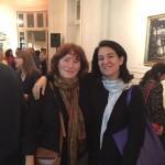 Graciela Arbolave, restauradora del museo y Mariana Marchesi
